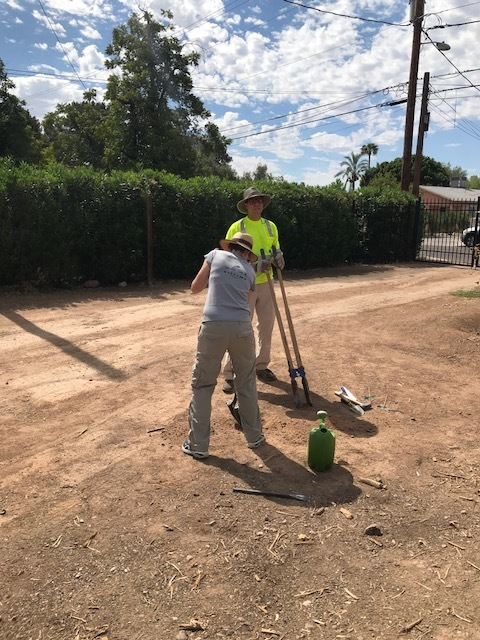 Installing Stormwater Samplers on Urban Agriculture Site